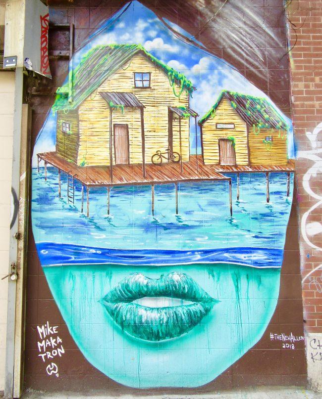 Mike Makatron Mural