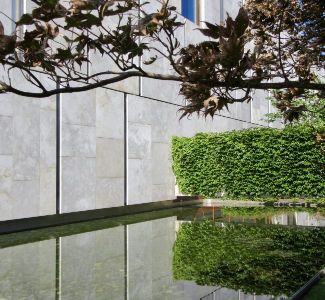 Barnes Foundation Exterior Shot