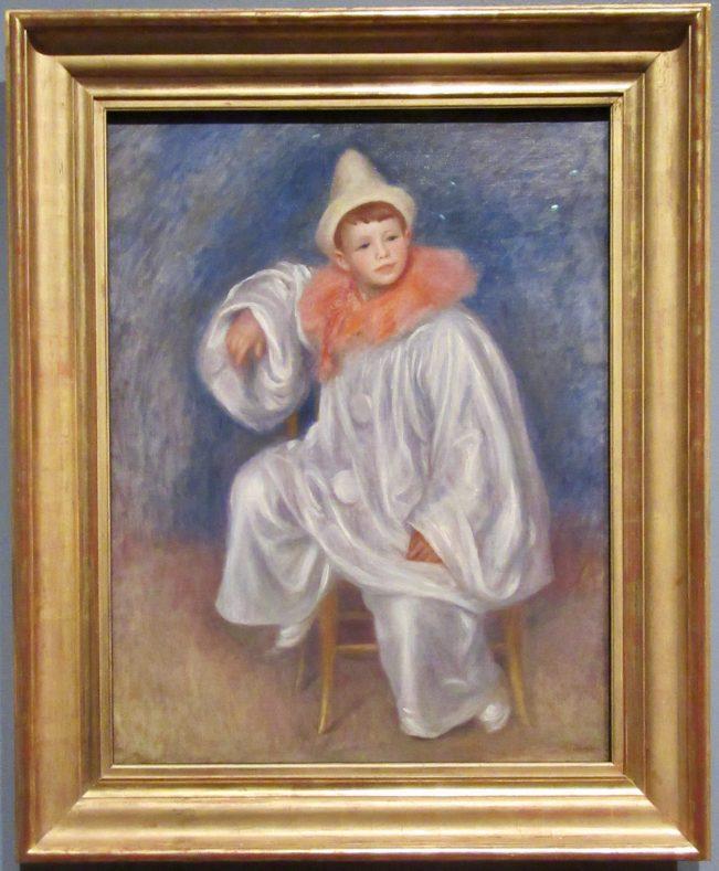 Jean Renoir as Pierrot