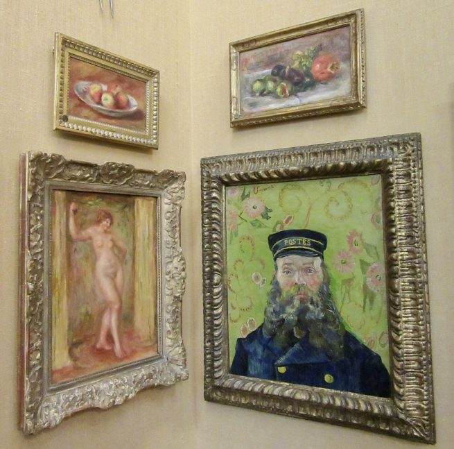 Van Gogh Postman Portrait of Joseph Roulin