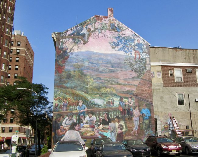 Outside Dining Mural