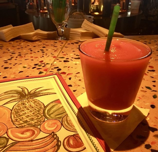 El Vez Blood Orange Margarita