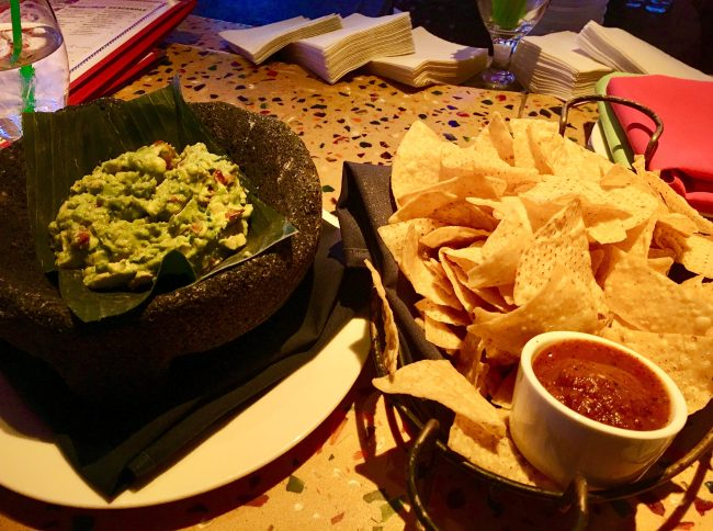 El Vez Guacamole and Chips