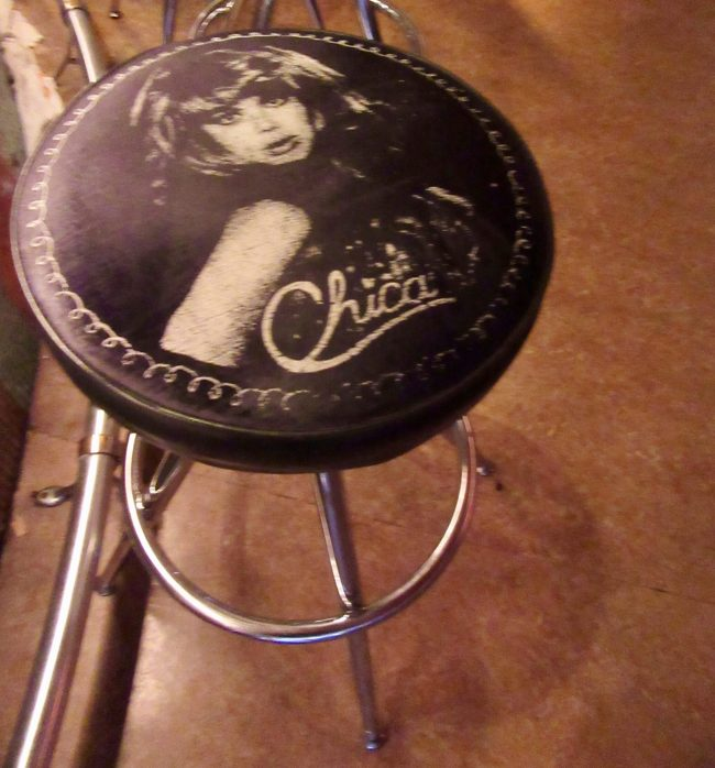 Charo Bar Stool at El Vez Bar