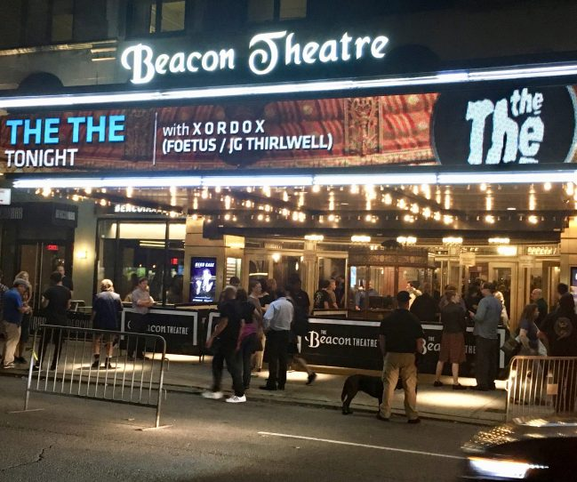 Beacon Theater Maquee Front Only