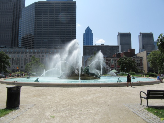Logan Square Swann Memorial Fountain