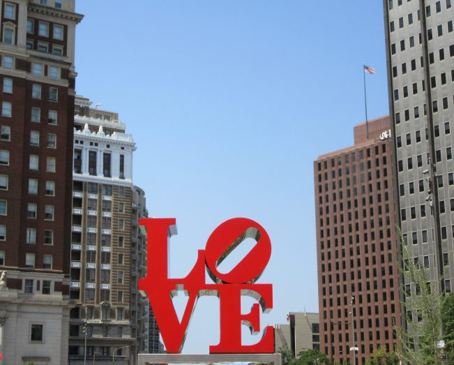 Love Sculpture in Love Park