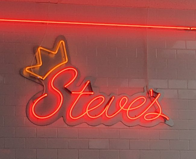Steves Prince of Steaks Neon Sign