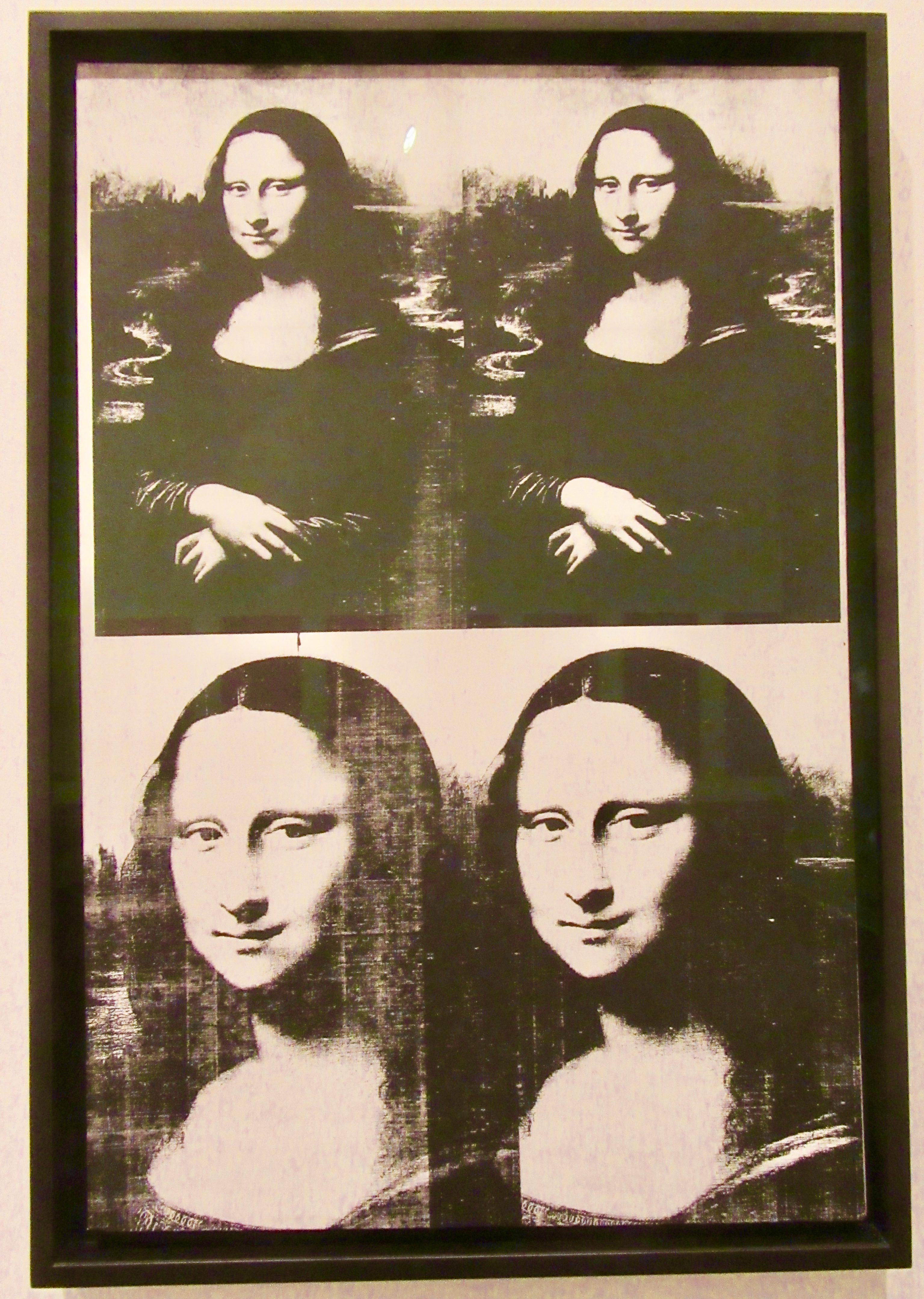 Superbe Modern Art Monday Presents: Andy Warhol, Mona Lisa   The Worley Gig @VF_48