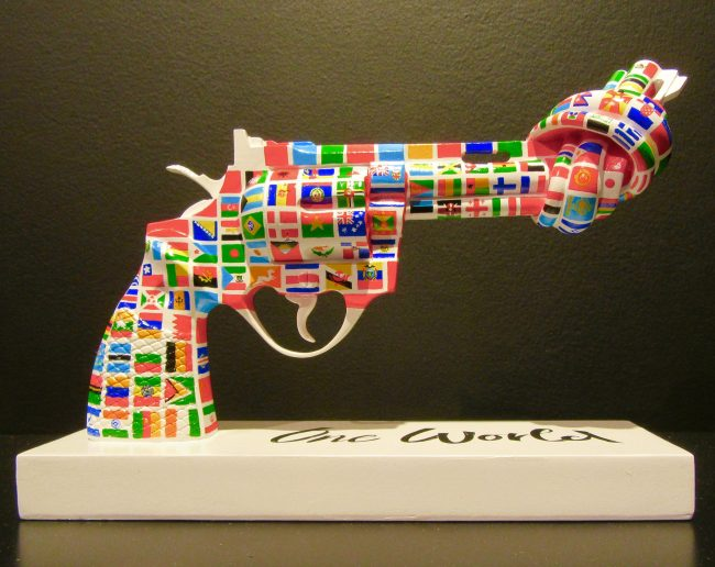 One World Knotted Gun