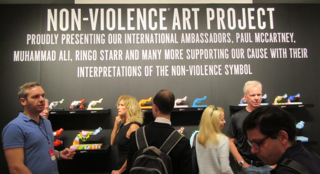 Non Violence Project Booth