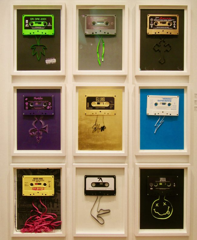 Series of Framed Cassettes By James Talon