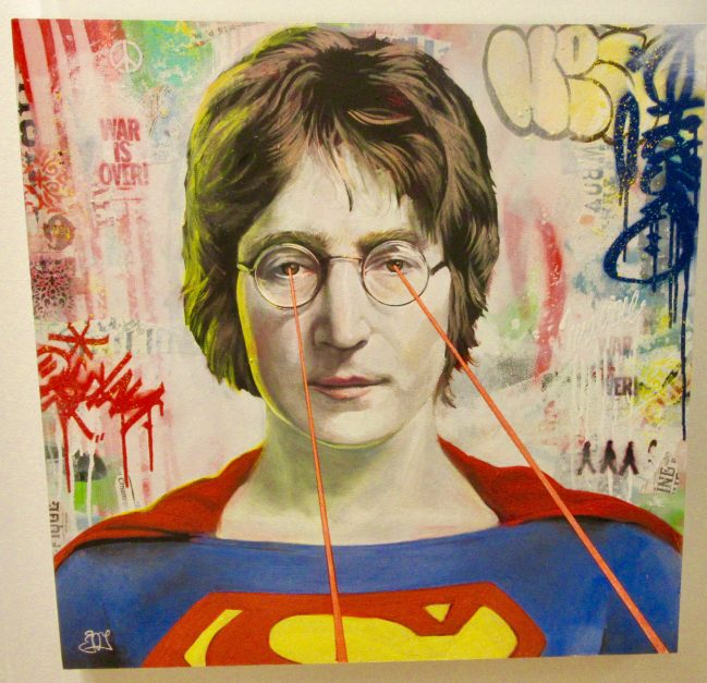 Lennon Superman By Srin Joy