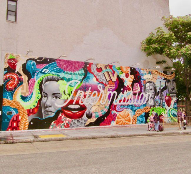 Tristan Eaton Intermission Mural