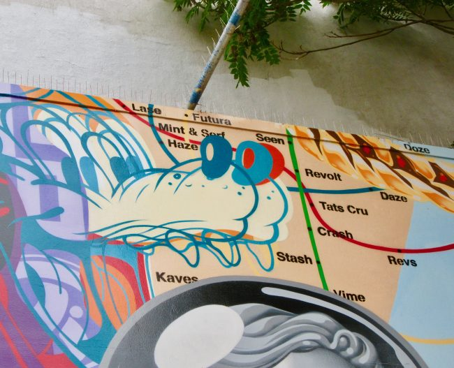 Street Art Map Detail