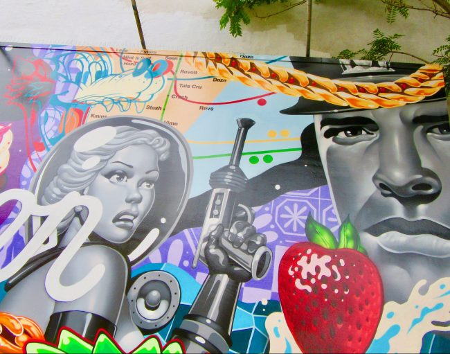 Intermission Mural Detail