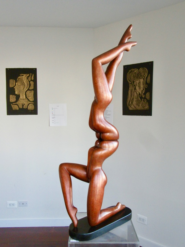 Dual Body Sculpture