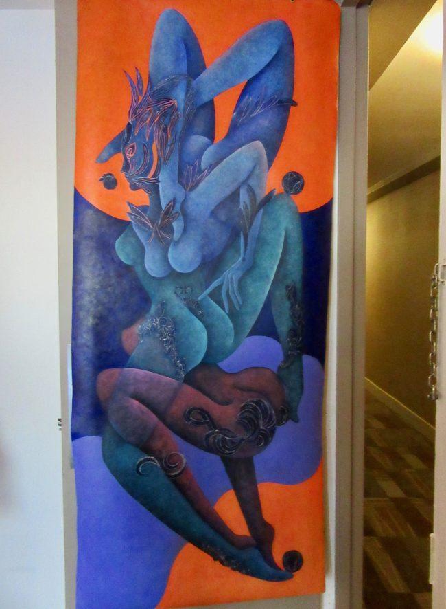 Art on Door