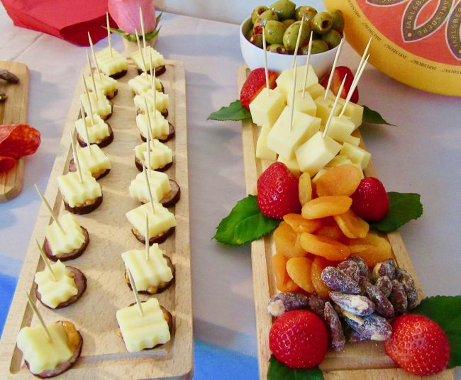 Spread of Jarlsberg Cheese 2