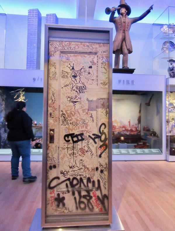 Stewart Studio Graffiti Door