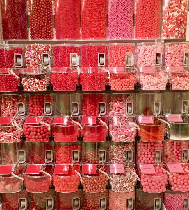 Pink Bulk Candy