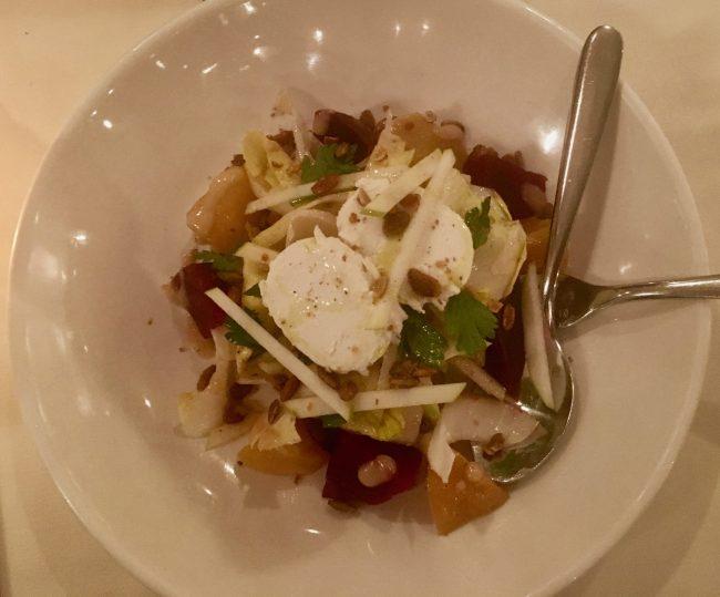 Beet Salad Overhead