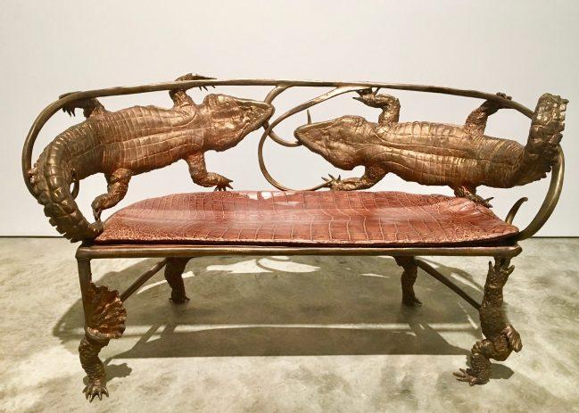 Crocodile Banquette Front View