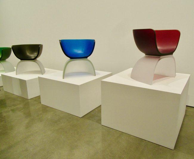 Marc Newson Glass Chairs
