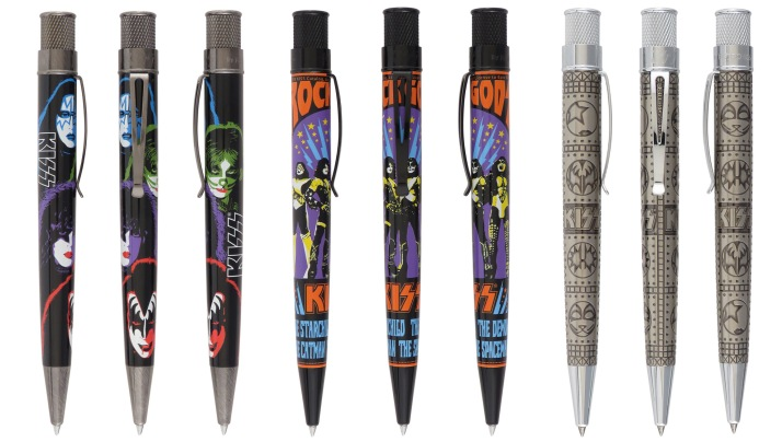 Kiss Pen Collection