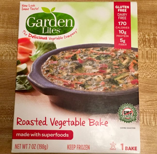 Roasted Vegetable Bake Packaging