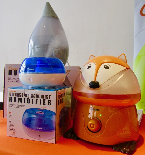 Crane Humidifiers Display