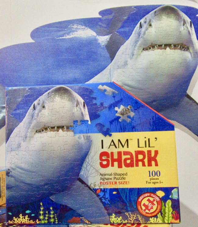 Shark Attack Jigsaw Puzzle Box