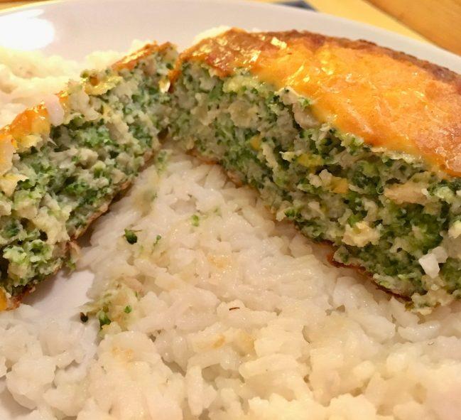 Cheddar Broccoli Bake Ready to Eat