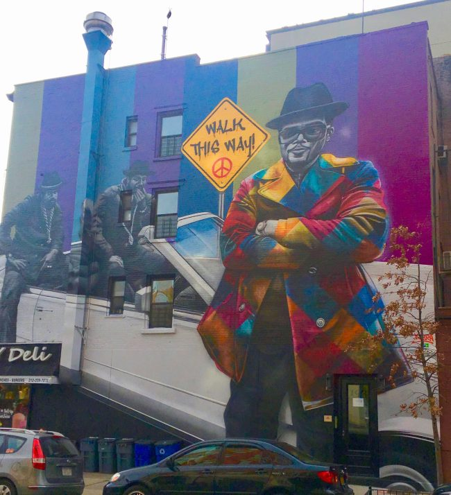 Run DMC Mural By Kobra
