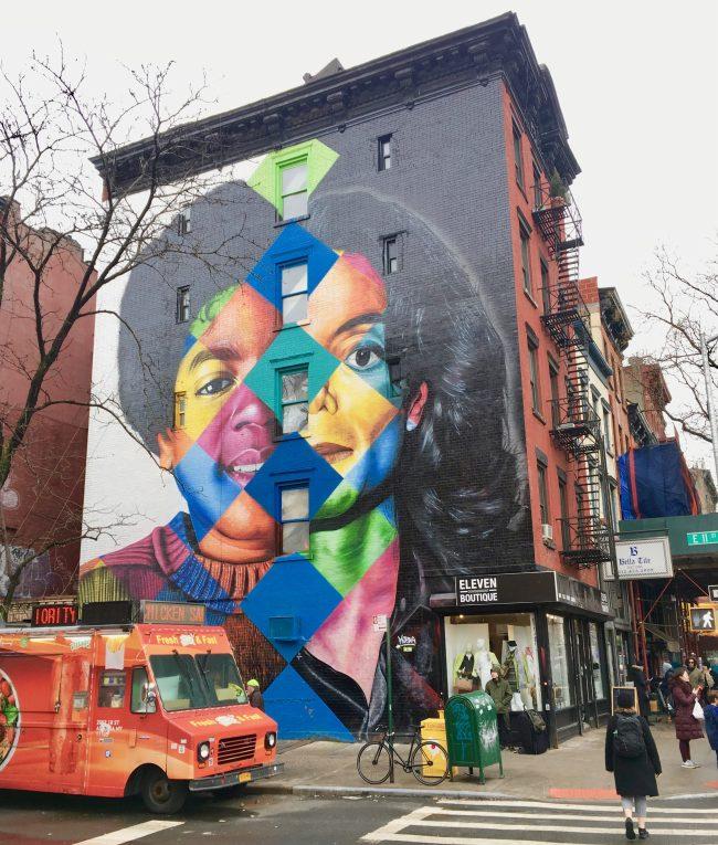Kobra MJ Mural