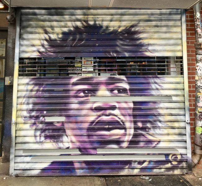 Mikey Likes It Jimi Hendrix Mural