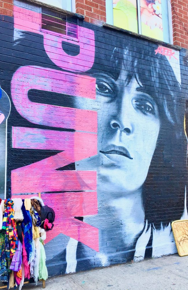 Patti Smith Mural