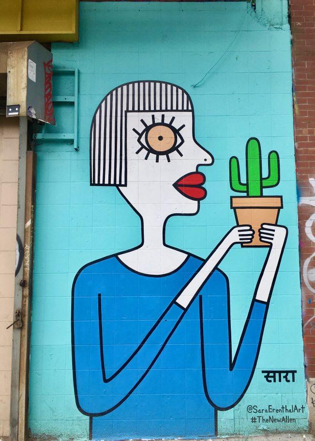 Sara Erenthal Mural
