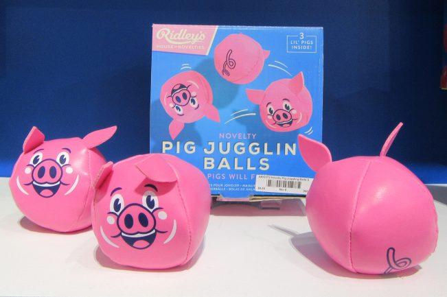 Juggling Pig Balls