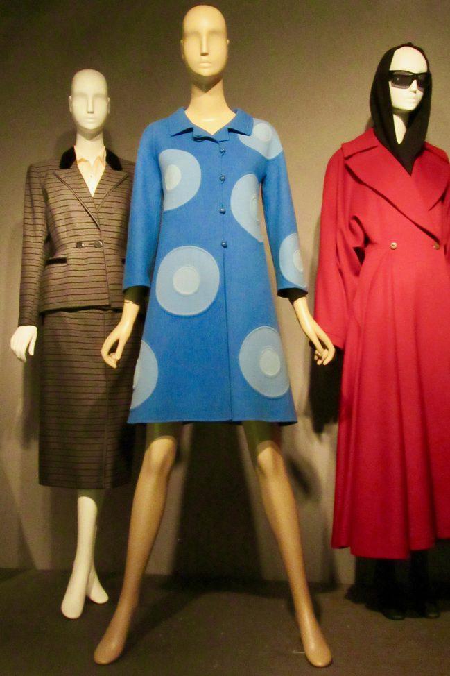Blue Wool Coat