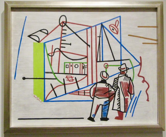Stuart Davis, Men and Machine