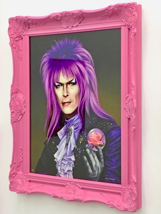 Pink Bowie as Jareth