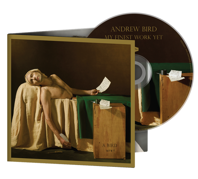 Andrew Bird CD Cover