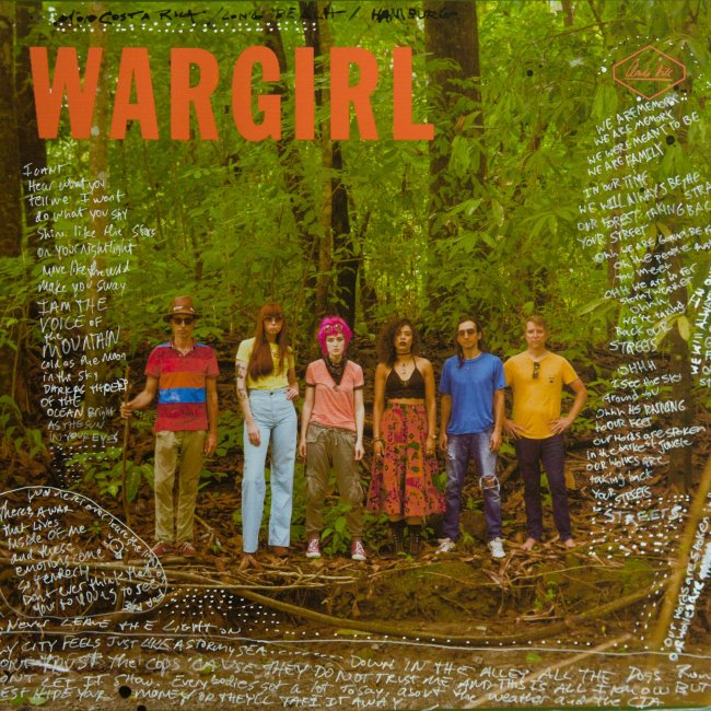 Wargirl Album Cover Art