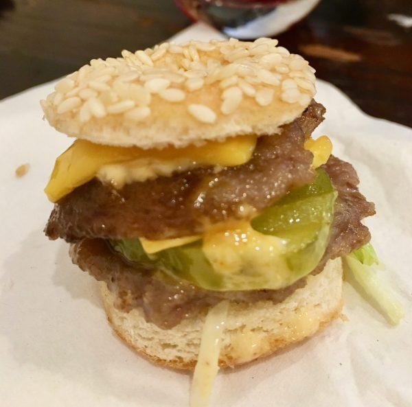Mini Big Mac Detail