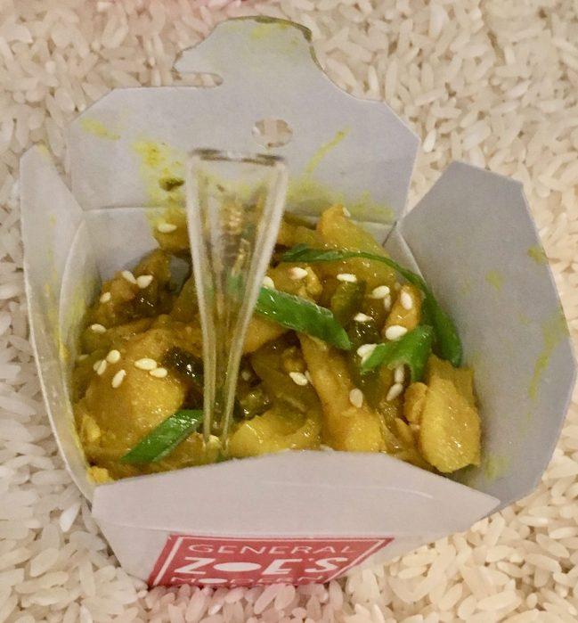 Lemongrass Chicken Pop Up