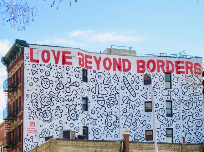 Love Beyond Borders Close Up