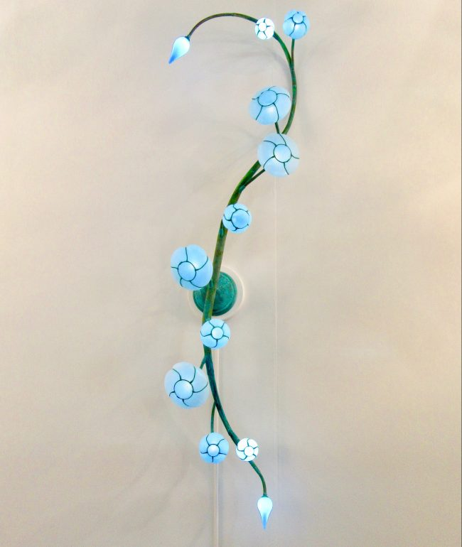 Morning Glory Wall Sconce