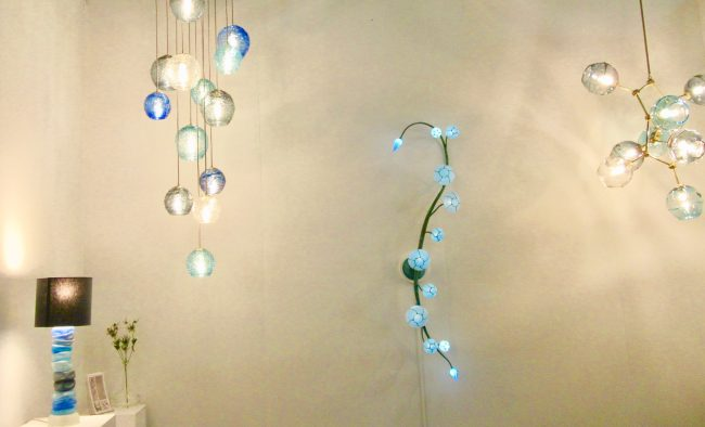 Morning Glory Wall Sconce Installation View