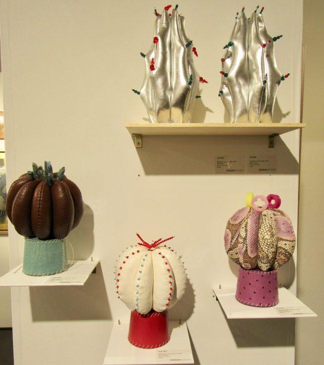 Ara Cho Cactus Sculptures